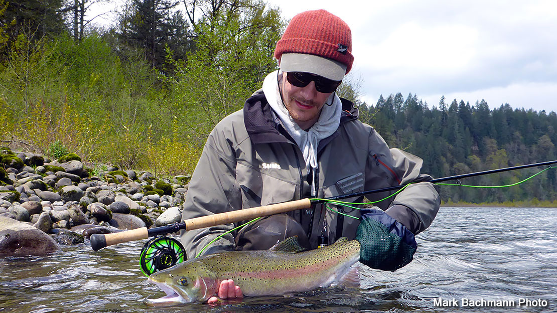Fly fishing opportunities in april for Sandy river fishing