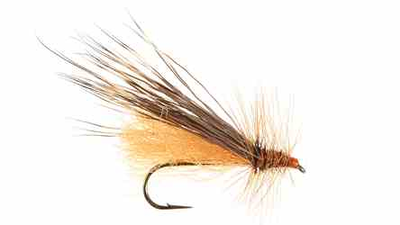Clarks Salmon Fly, Orange Clarks Salmon Fly, Orange