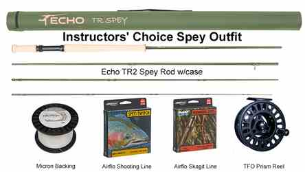 Instructors Choice Spey Outfit Instructors Choice Spey Outfit, Echo TR2