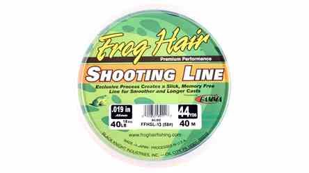 Frog Hair Shooting Line Frog Hair Shooting Line