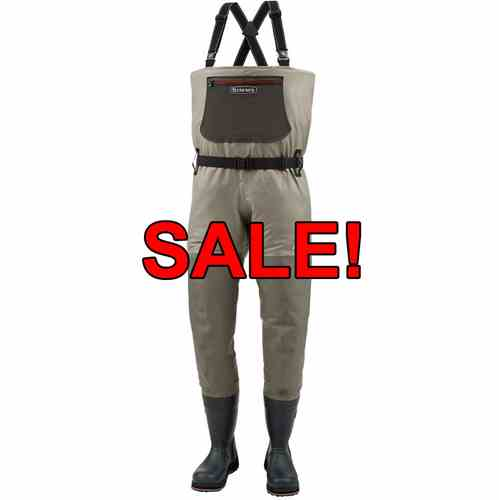 Simms g3 stockingfoot waders on sale now! At ugly bug fly shop in.