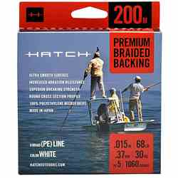 Hatch Premium Backing, Packaged #68, 200 Meters Hatch Premium Backing, Packaged #68, 200 Meters