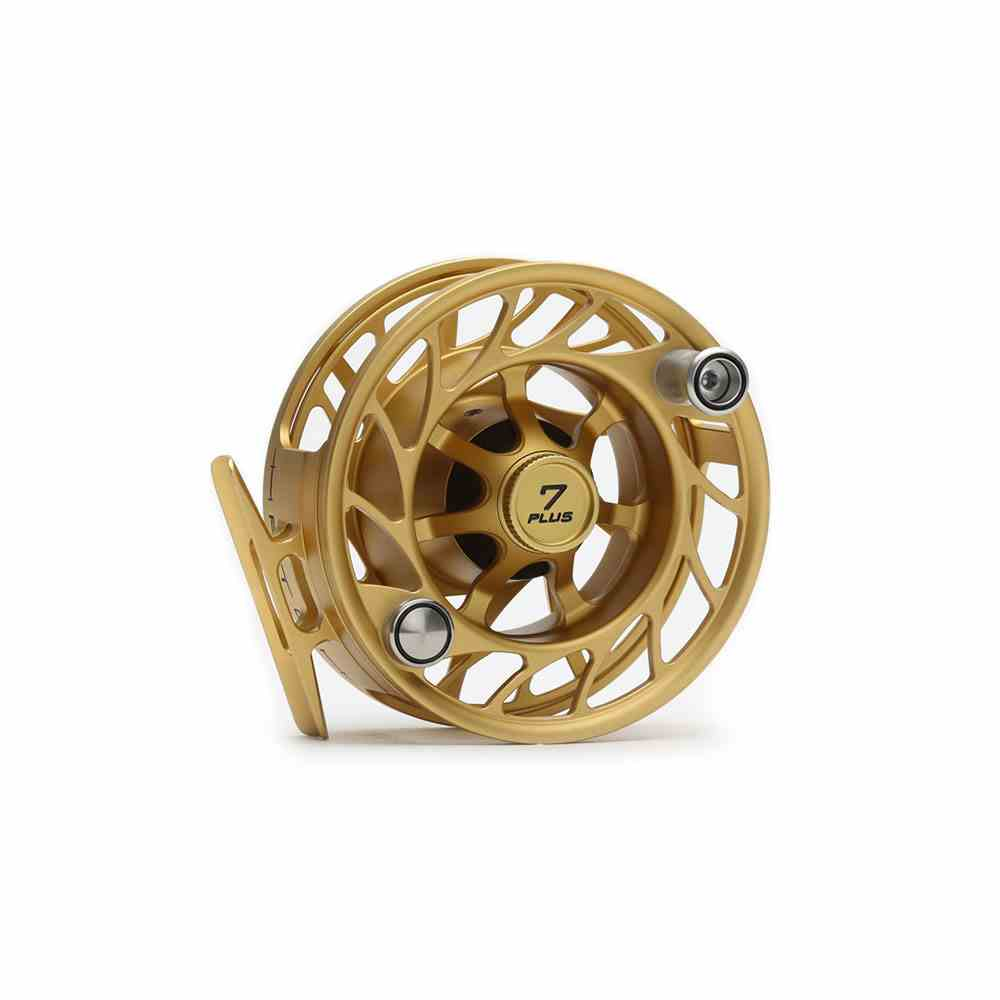 Hatch Custom Shop Generation 2 Finatic 7 Plus Reel in Gold Hatch Custom Shop Generation 2 Finatic 7 Plus Reel in Gold