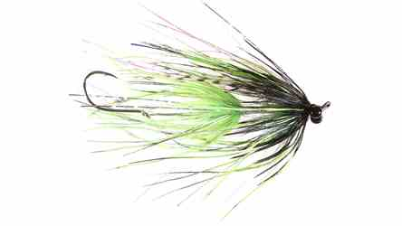 "Stus Barred Ostrich Intruder, Chartreuse/Black, 3"" Stus Barred Ostrich Intruder, Chartreuse/Black, 3"""