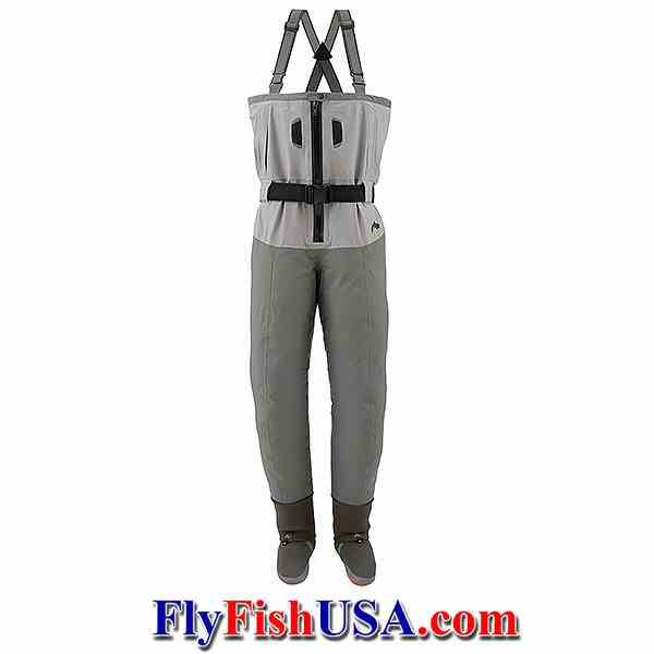 Simms Freestone Zip-front Stockingfoot wader, picture