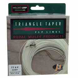 Royal Wulff Triangle Taper Fly Line, white, box, picture