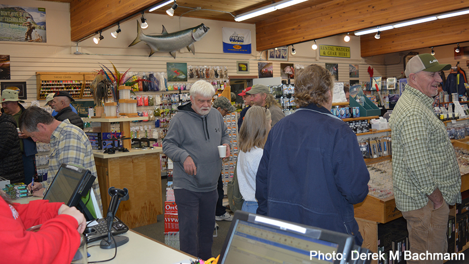 Christmas Party and Annual Winter Steelhead & Fly Fishing Clinic