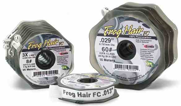 Frog Hair FC Fluorocarbon Tippet - FFCT1-10