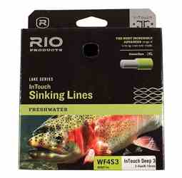 RIO InTouch Deep 7 Full Sinking Fly Line RIO InTouch, Deep 7 Full Sinking Fly Line, for fishing deep water, for many species of game fish