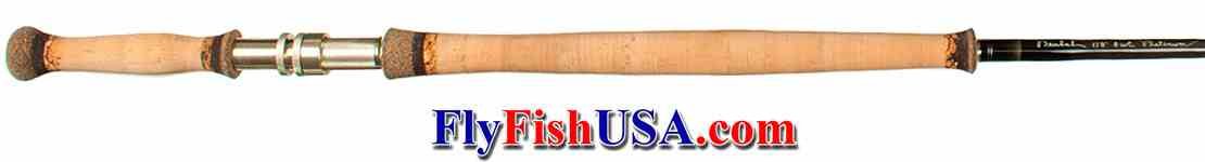 Beulah Platinum Spey rod handle 6126, picture