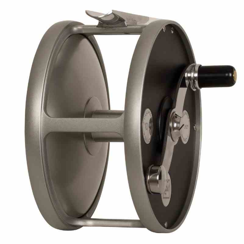 Hardy Cascapedia Fly Reel, standard arbor view, picture.