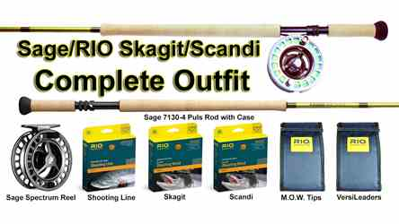Sage/RIO Skagit/Scandi Complete Year Around Spey Outfit, picture