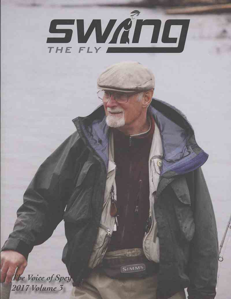 Legend, Harry Lemire graces the front cover of Swing The Fly Magazine, picture