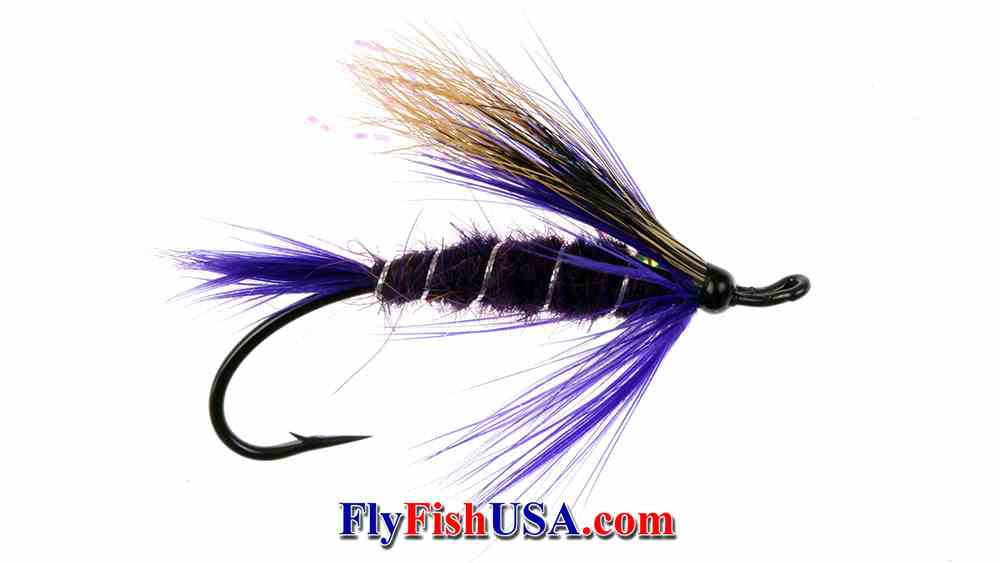 Purple Peril Steelhead Fly, picture