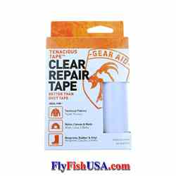 Tenacious Tape Repair Tape, Clear Tenacious Tape, Repair Tape, Clear, repairs fabrics