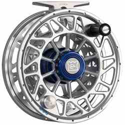 The Hardy Ultralite SDSL Fly Reel, quartering, front, picture