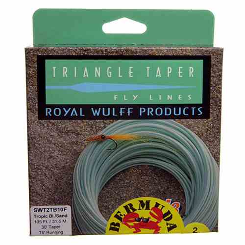 Royal Wulff Bermuda Triangle Taper Saltwater in the box, picture