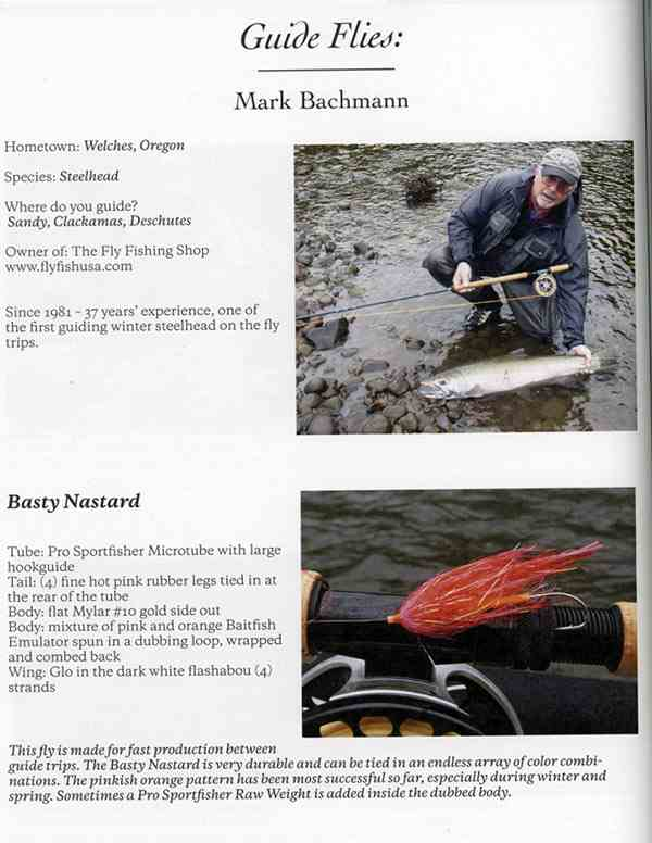 Swing The Fly Magazine 2018 volume 2, Guide Fly article by Mark Bachmann, page, picture