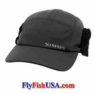 Simms Windbloc Guide Hat, Ear Flaps Up, Picture