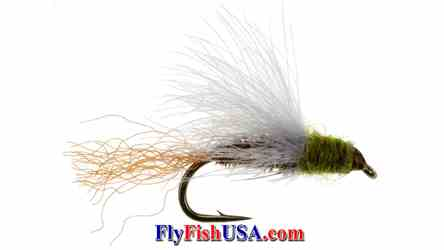 CDC Baetis Emerger Trout Fly, picture