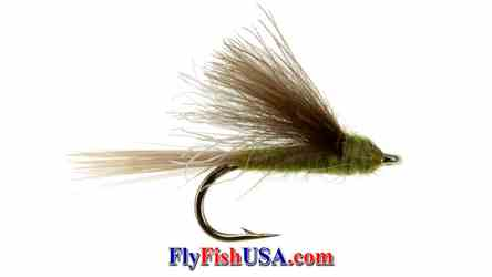 CDC Tailwater Dun BWO Trout Fly, picture