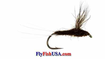 Mahogany Comparadun Trout Fly, picture