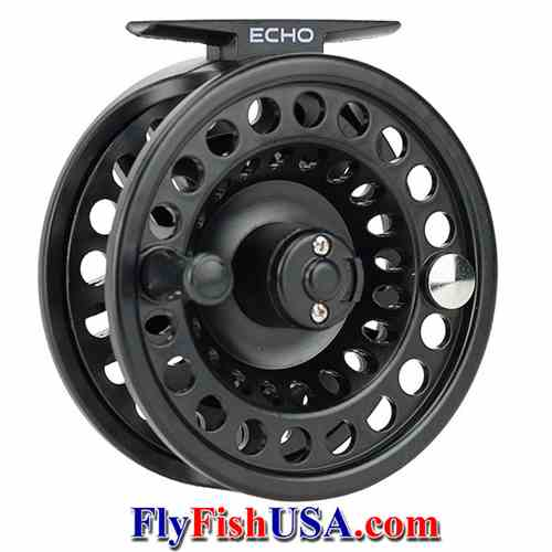Picture, Echo Base Fly Reel, quartering view