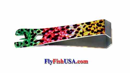 Picture, Rainbow Nipper from The Fly Fishing Shop, www.flyfishusa.com