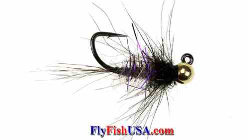 Picture, Tunsten Bead Jig Nymph Fly, Brush Hog, picture